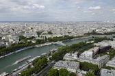 The Seine River in Paris — Stock Photo