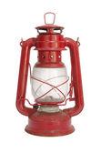 Старый красный фонарь изолированные — Стоковое фото
