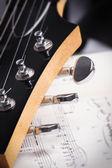 电吉他 — 图库照片