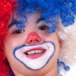 Little clown boy - portrait — Stock Photo #13071715