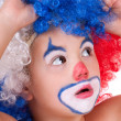 Little clown boy - portrait — Stock Photo #13072954