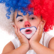 Little clown boy - portrait — Foto de Stock
