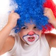 Little clown boy - portrait — Stock Photo #13122619