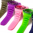 Colorful watches - Stock fotografie