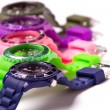 Colorful watches — Stock Photo