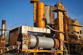 Asphalt-Fabrik — Stockfoto