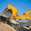 Loader excavator construction machinery equipment - Stock fotografie
