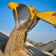 Loader excavator construction machinery equipment - 图库照片