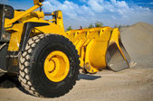 Loader excavator construction machinery equipment — Foto Stock