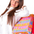 Girl in shopping — Stock Photo #13817453