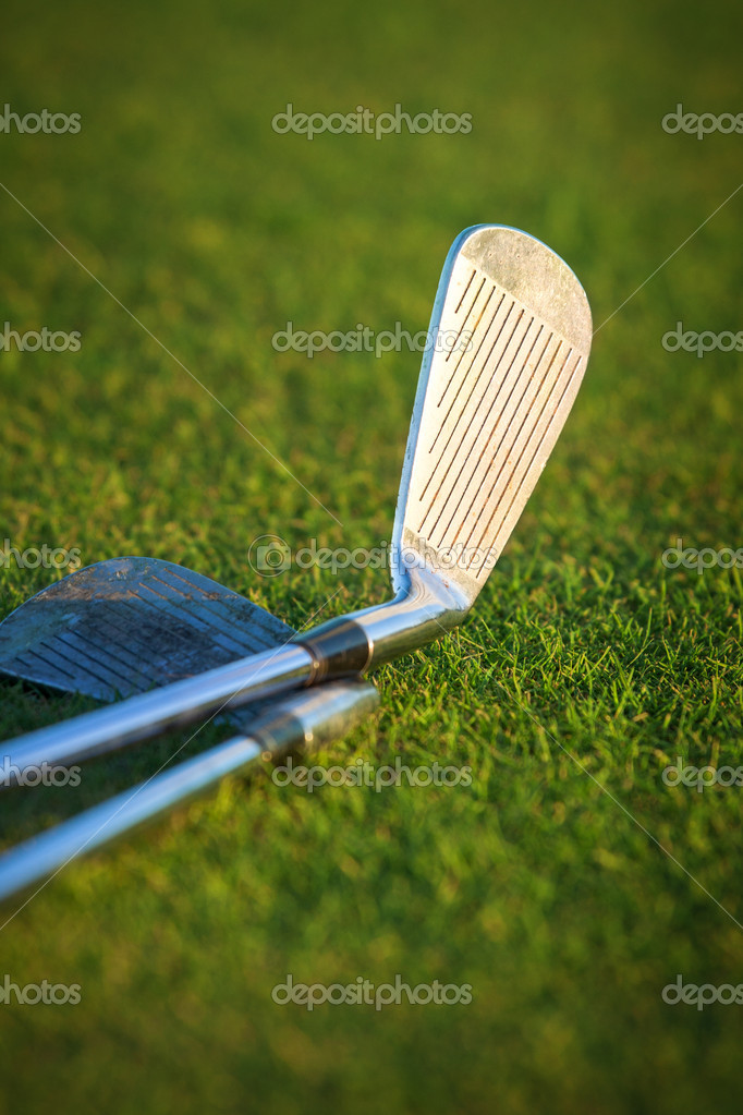 Golf club and ball — Stock Photo #13889092