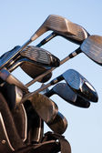 Un club de golf sur un parcours de golf — Photo