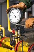 Gas manometer — Stock Photo