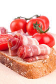 Sandwich au bacon — Photo