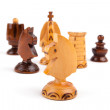 Concept of chess game with pieces — Stock Photo #18333705