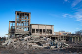 Verwoeste gebouwen — Stockfoto