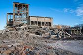 被破坏的建筑物 — 图库照片