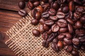 Kaffe bönor — Stockfoto