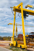 Shipyard — Foto Stock