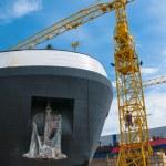 Shipyard — Stock Photo
