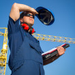 Shipyard worker — Stock Photo #24866687