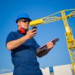 Shipyard worker — Stock Photo #24875795
