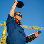 Shipyard worker — Stock Photo #24875881