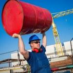 Shipyard worker — Stock Photo #24876055