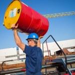 Shipyard worker — Stock Photo #24876145