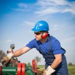 Oil engineer — Stock Photo #25242845