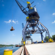Port crane — Stock Photo #26608309