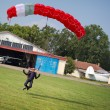 Parachutist — Stock Photo