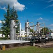 Gas storage and pipeline — Stock Photo #31564485