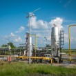 Gas storage and pipeline — Stock Photo #31564501