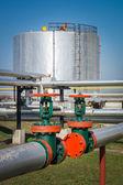 Oil valve — Stock Photo