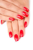 Manicured nails — Stock Photo