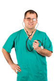 портрет хирурга — Стоковое фото