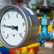 manometer-druck — Stockfoto
