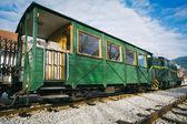 Old railway carriage — Stock Photo