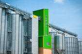 Storage silos for agricultural — Stock Photo