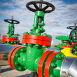 Stock Photo: Industrial valves