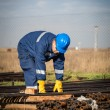 Worker at industrial plant — Stock Photo #39186487