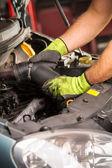Oficina de reparação automóvel — Fotografia Stock