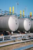 Petrolio e gas, impianto di trattamento — Foto Stock