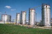 Petróleo e gás, planta de processamento — Fotografia Stock