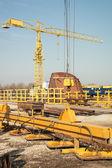 Shipyard industry — Stock Photo