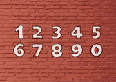Vector set : hand-drawn numbers — 图库矢量图片