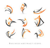 Abstract icons set — Stock Vector