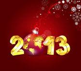 New year 2013 — Stock Vector