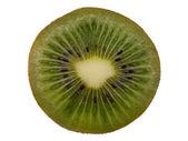 Juicy a kiwi on a white background — Stock Photo